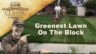 Secret Having Greenest Lawn Block