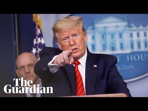 Coronavirus: Donald Trump Steps Up Attacks On China And The Media