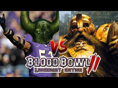 Nurgle (Turin) vs Dwarfs (Magic Potato) | Blood Bowl 2 - Wild Hogs Ranked League Week 11
