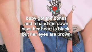 The Fratellis - Everybody Knows You Cried Last Night lyrics