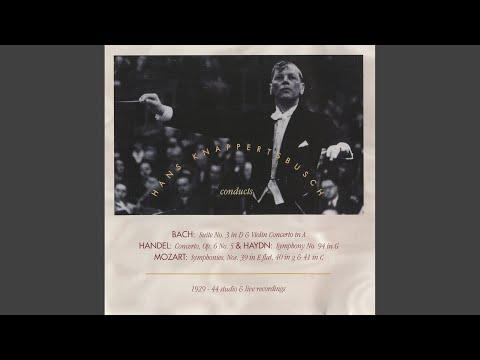 Concerto Grosso In D Major, Op. 6, No. 5, HWV 323: III. Presto