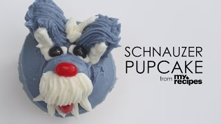 How To Make Schnauzer Pupcakes | Myrecipes