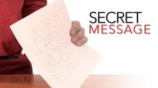 Secret Message - Sick Science #067