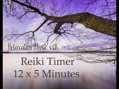 Reiki Timer with Relaxing Music and 5 Minute Bell Timer ~ 12 Positions