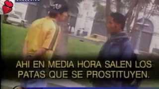 Prostitución Masculina en Plaza San Martín [2/2]
