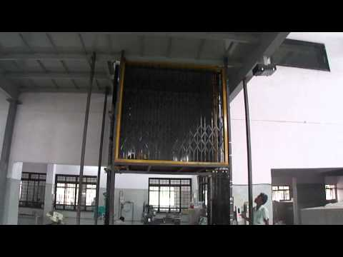 Hydraulic Goods Lift, Manufacturer Om Sai Engineering Aurangabad(M.S) India