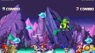 [Sonic Mugen 14] Team Sonic Freedom Fighter Vs Team Knuckles Chaotix
