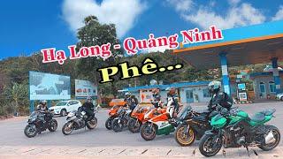 Full Tour Hà Nội - Hạ Long Cùng Team Bike La Cả | Phần 1 | Tới Tài Tử Lần Đầu Mặc Giáp Chạy Motor.