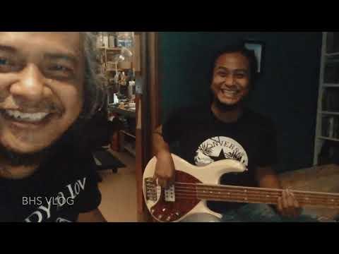 BTS   Bass Tracking - Deen Assalam   Badrul Hisham Studio Vlog