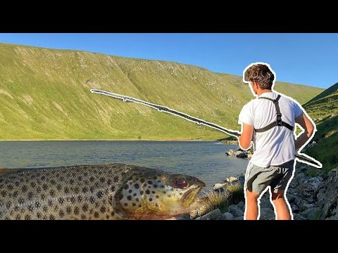 Lake District CATCH And COOK - Wild Brown Trout Fishing (Mountains)