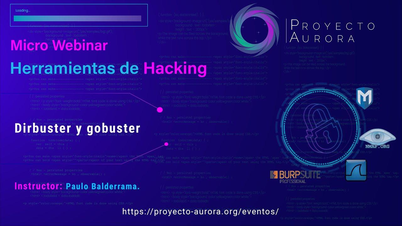 """Herramientas de Hacking: """"Dirbuster y Gobuster"""""""