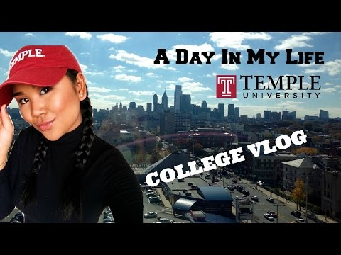 College Vlog: A Day in My Life // Temple University