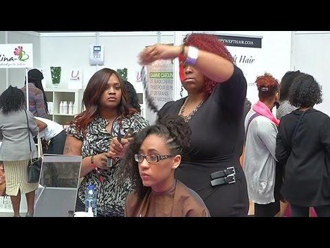Afrique, La beauté afro-caribéenne au salon Boucles d'ébène