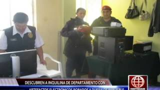 Serenazgo Victor Larco capturan a ROBA CASAS America Tv