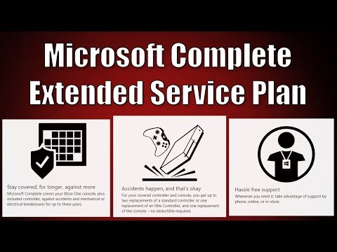 Microsoft Complete Extended Service Plan For Xbox One