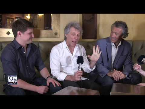 JON BON JOVI 15 MINUTES INTERVIEW IN MIAMI - 02/18