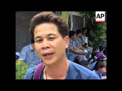 Thailand - Protest over economy