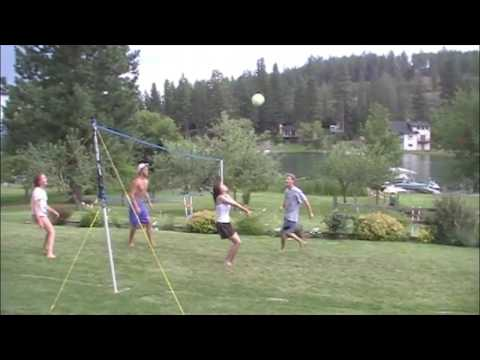 Tim Watson volleyball fail at 2012 Lake Games