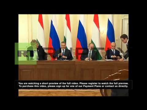 Russia: Nuclear deal will 'enhance Hungary's energy independence' - Putin