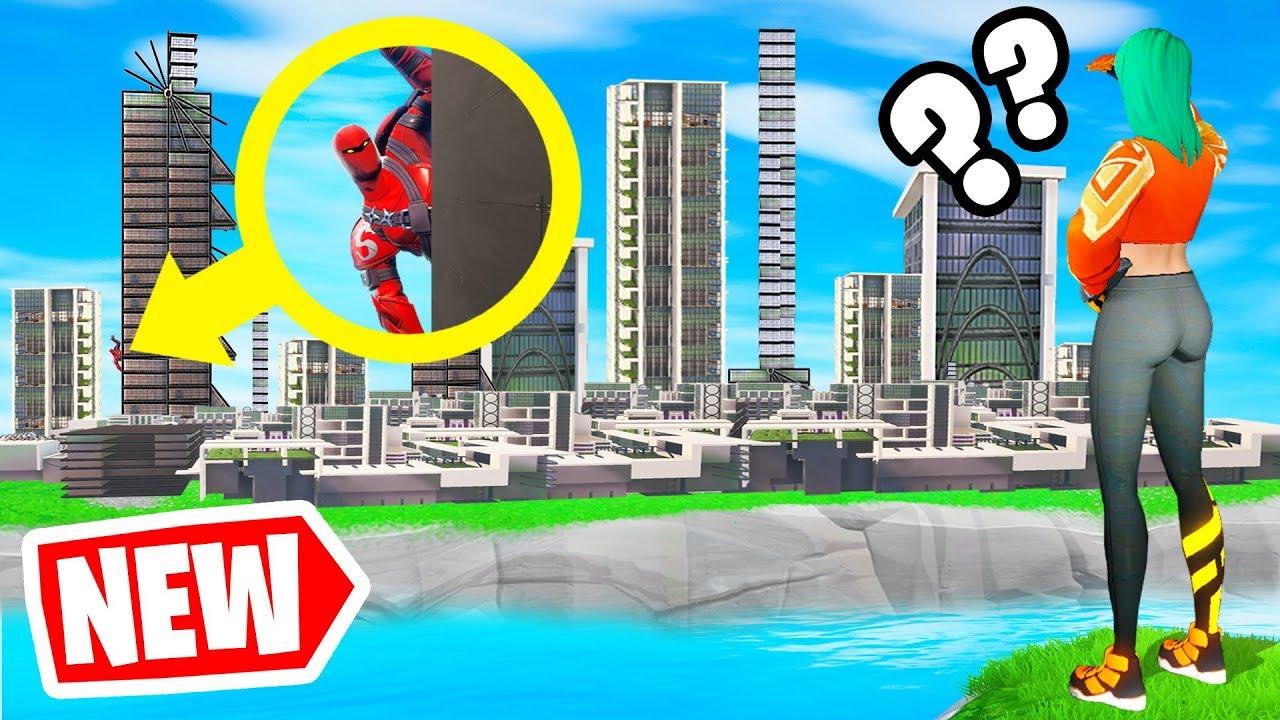 FUTURE CITY HIDE  SEEK Fortnite Creative Game Mode  YouTube