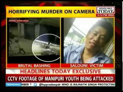 CCTV footage of Manipur's Akha Salouni murder (Not for the weak-hearted)