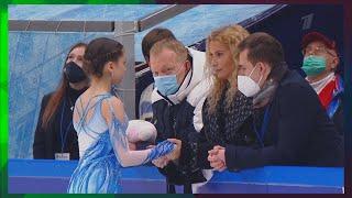 Валиева впервые исполнила тройной аксель на соревновании и по балам превзошла рекорд Косторной