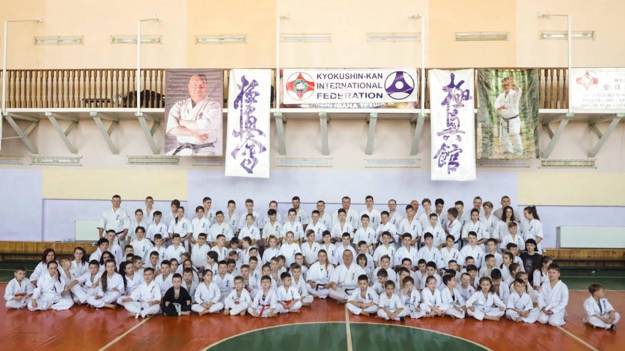 Уже вчетверте у Бродах відбулась зимова школа Західноукраїнського бранчу з кіокушин-кан карате