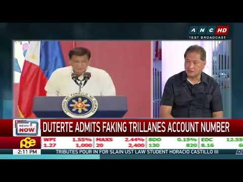 Duterte's bank bait for Trillanes has no sense: analyst