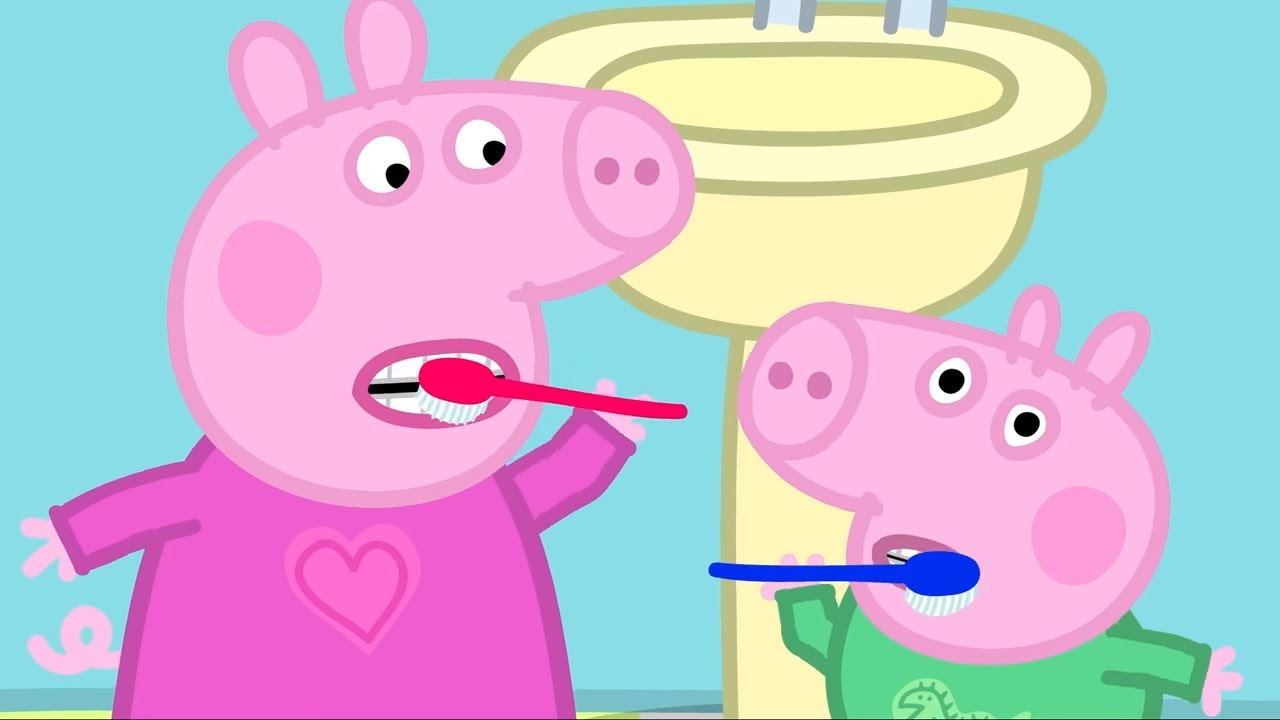 Peppa Pig Episodes - Best Moments from  Season 1 - 1 HOUR - Cartoons for Children