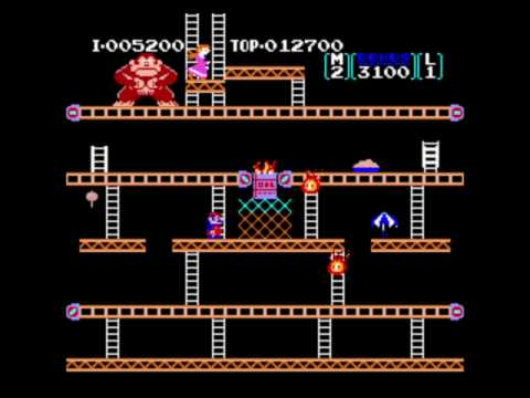my donkey kong nes arcade hack youtube. Black Bedroom Furniture Sets. Home Design Ideas