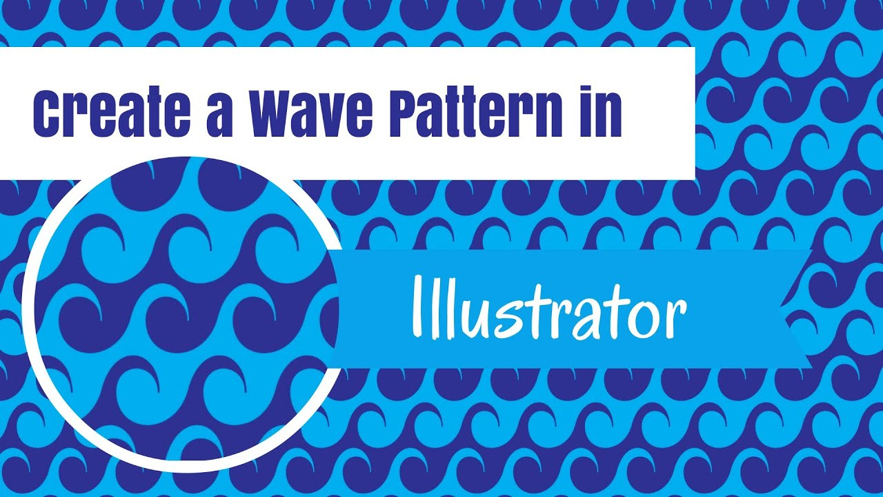 Create Wave Patterns in Illustrator - Making Seamless