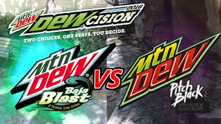 Mountain Dewcision 2016: The Battle of Flavors