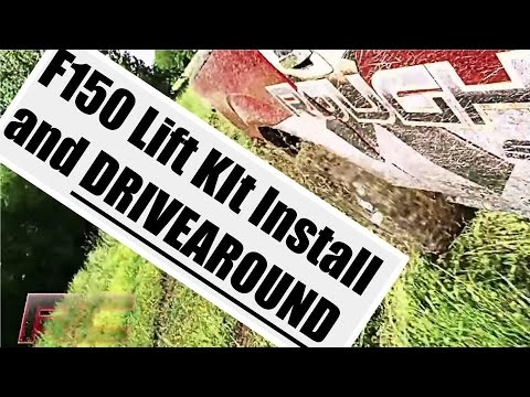 Jeep Liberty Lift Kit Reviews - F150 Lift Kit Installation - 2009-2013 - Rough Country Suspension Lift Kit - Tutorial and Review