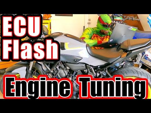FZ-07 ECU Tuning Flash Engine Tuning