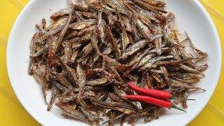 Làm cá cơm khô chiên sốt chua ngọt ăn hết cơm luôn - Cuộc sống quanh ta: Số 651.
