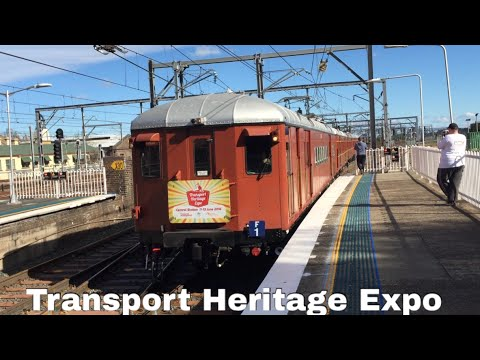Sydney Trains Facts & Trivia Vlogs Ep 177 Transport Heritage Expo
