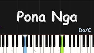 Shaddaï Ndombaxe x Rosny Kayiba – Pona nga | EASY PIANO TUTORIAL BY Extreme Midi