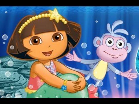 Dora The Explorer Movie Game Mermaid Adventure Full