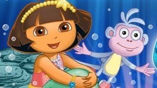 Dora The Explorer - Movie Game : Mermaid Adventure (FULL HD)