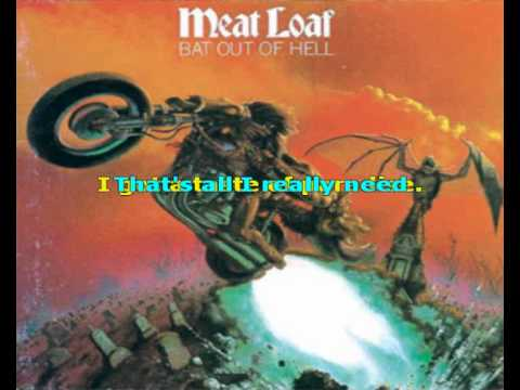 Meat loaf heaven can wait lyrics
