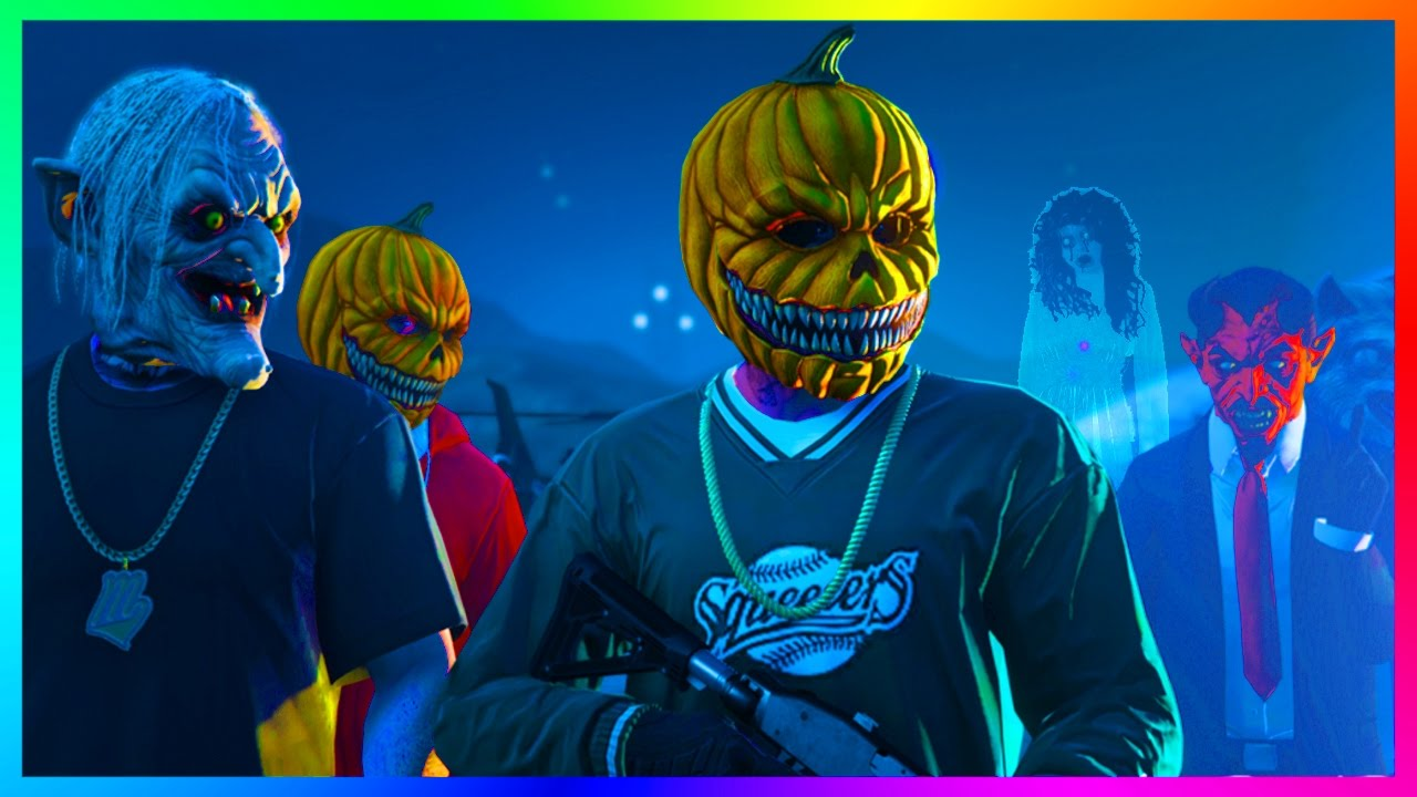 GTA ONLINE FREEMODE PREPARING FOR HALLOWEEN 2016 DLC W/ RARE CARS ...