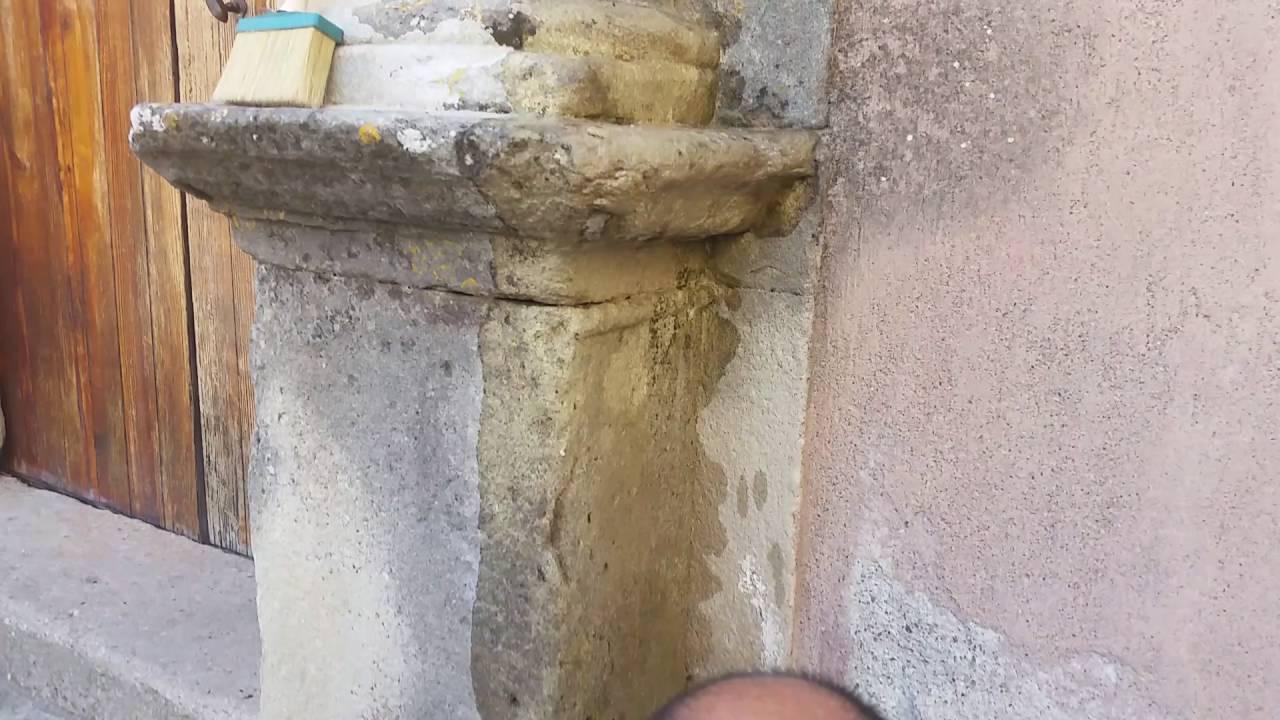 abbastanza Cannao Restauro e Recupero Pietra Arenaria. - YouTube JS39