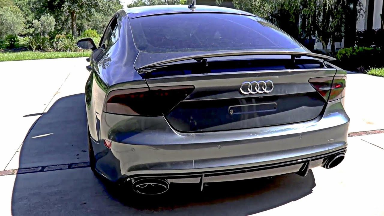 Samcrac Review His Savage 800hp Audi Rs7 W Armytrix Full Exhaust