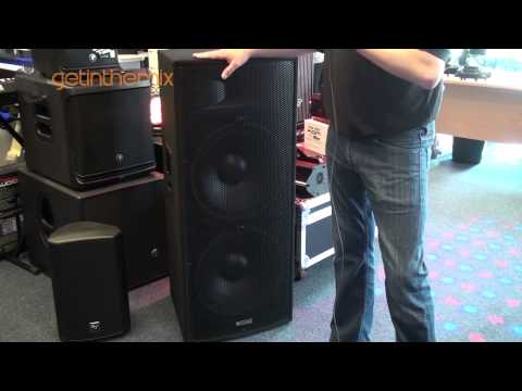 EXCLUSIVE Look at the AWESOME Evolution EL215 passive PA Speakers @ getinthemix.com
