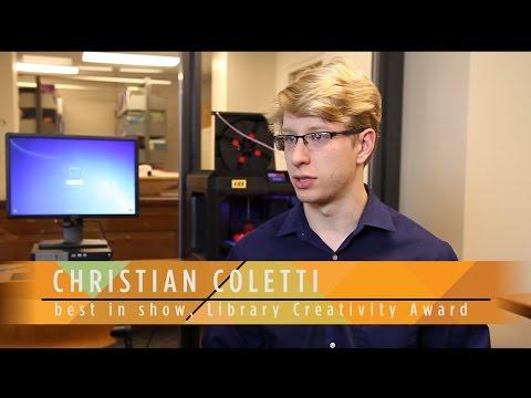"Library Creativity Award: Christian Coletti ""The Singularity Triangle"""