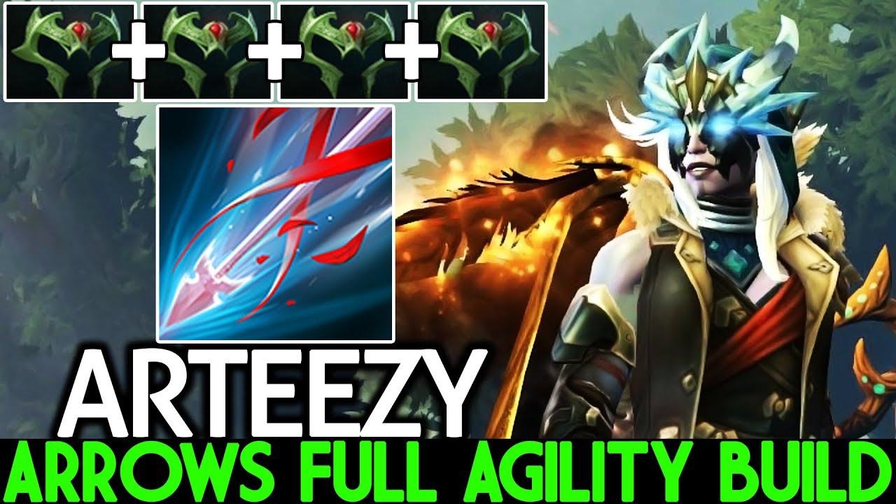 ARTEEZY [Drow Ranger] Arrows Full Agility Build Cancer Gameplay 7.22 Dota 2 thumbnail