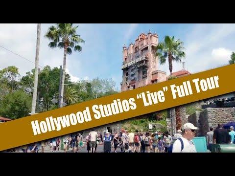 Disney's Hollywood Studios Live Walk Through Full Tour