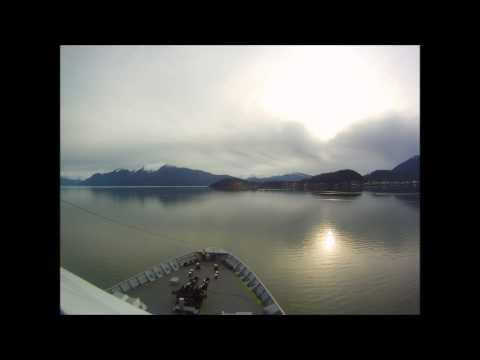 MV Columbia Southbound Wrangell Narrows