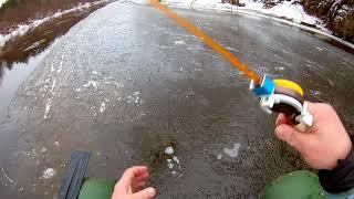 Последняя рыбалка в 2017 году не со льда