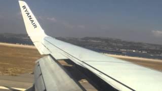 Landing Ryanair Marseille Airport